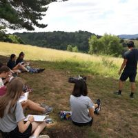Y12 Field sketching - July 2018